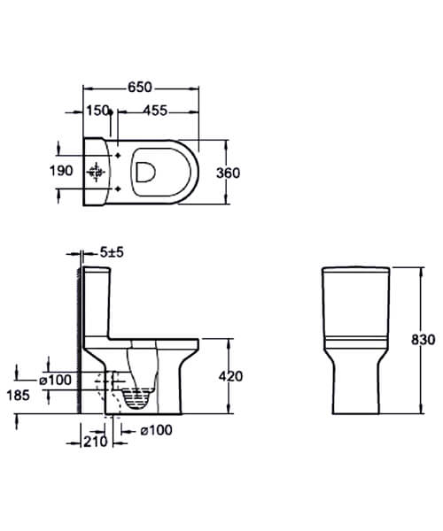 Technical drawing 55128 / C10156