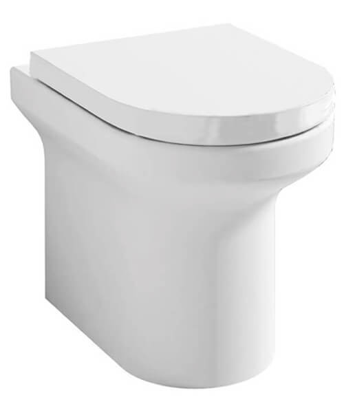 IMEX Alma Rimless Back To Wall WC Pan 520mm