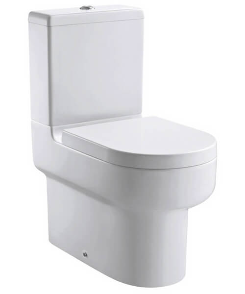 Pura Duro Closed Back Close Coupled WC Pan 630mm With Cistern