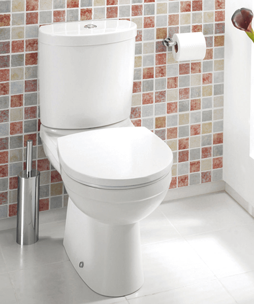 Silverdale Thames Close Coupled WC Pan With Cistern
