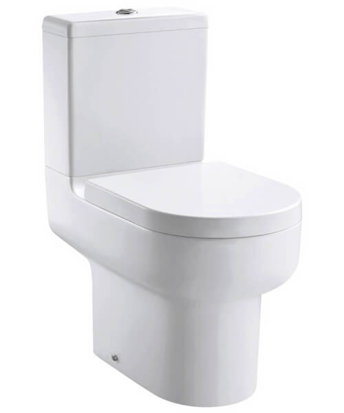 Pura Duro Open Back Close Coupled WC Pan 630mm With Cistern