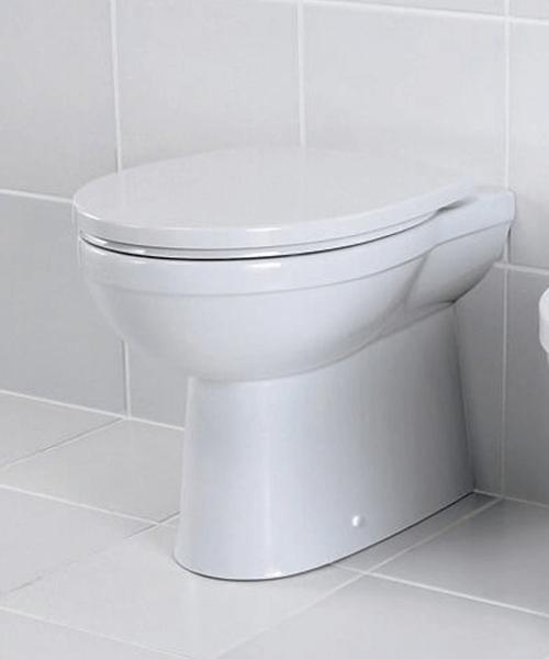 Silverdale Thames Back To Wall WC Pan White