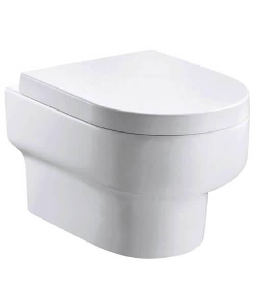 Pura Duro Rimless Wall Hung WC Pan 500mm