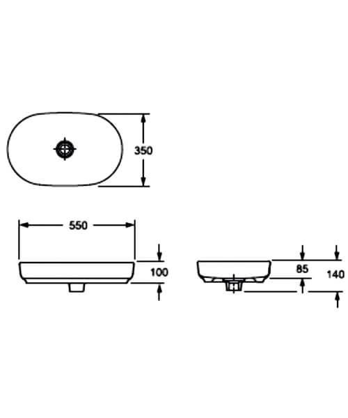 Technical drawing 55142 / LW1817