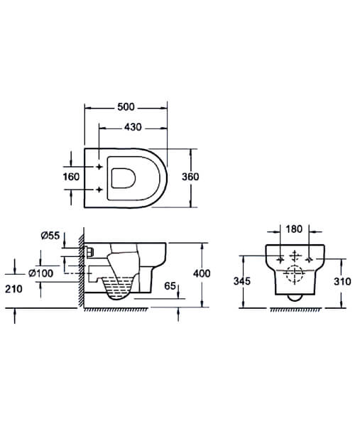 Technical drawing 55149 / CH10122