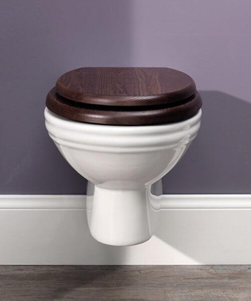 Silverdale Balasani 365 x 575mm Wall Mounted WC Pan White