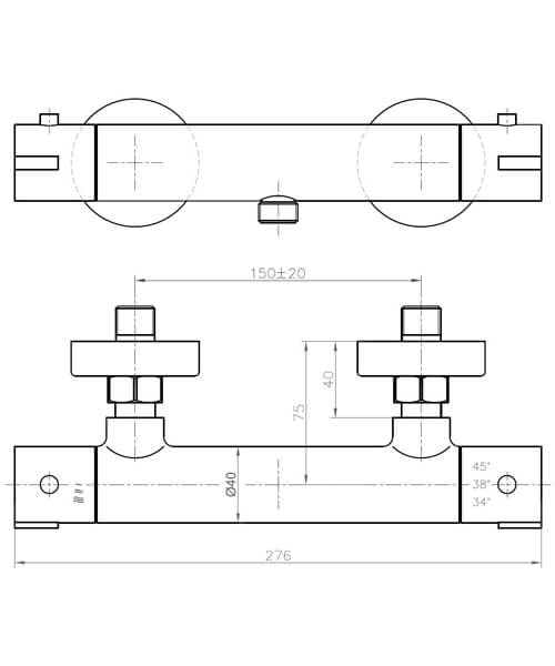 Technical drawing 34829 / CO1WV01