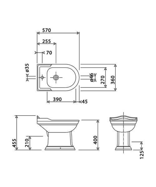 Technical drawing 32880 / BSBIDWMWHI