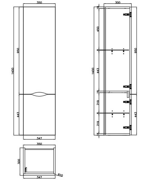 Technical drawing 54220 / 700305