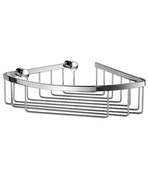 Smedbo Sideline 1 Level Corner Soap Basket