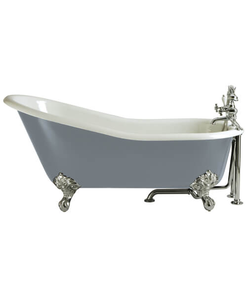 Heritage Hampshire 2 Taphole Bath With Feet 1700 x 780mm