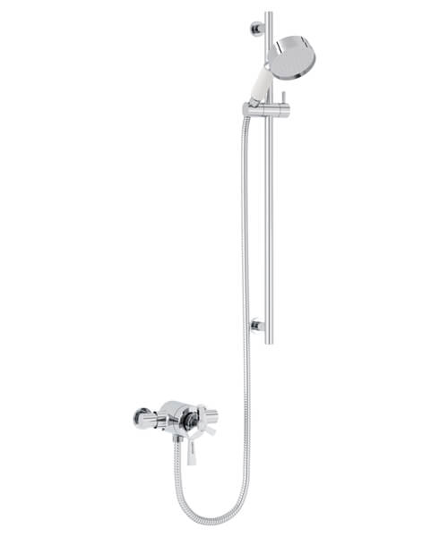 Heritage Gracechurch Exposed Thermostatic Shower Valve With Slide Rail Kit