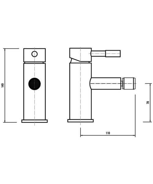 Technical drawing 34821 / PA006