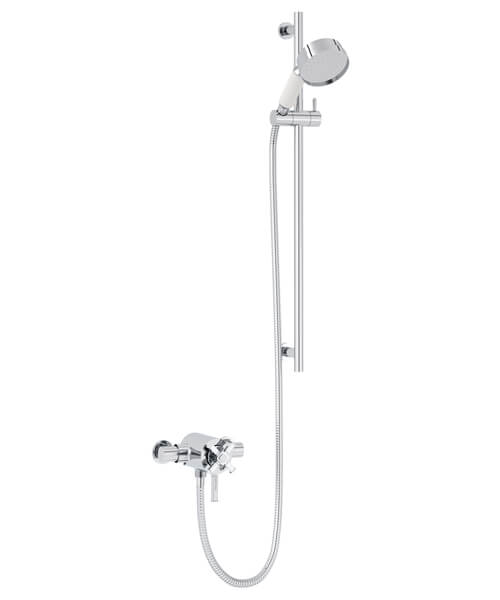 Heritage Somersby Exposed Thermostatic Valve With Slide Rail Kit
