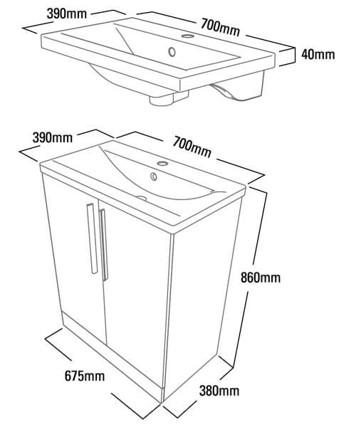 Technical drawing 14562 / EN7FW