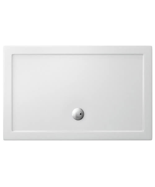Simpson Rectangular 35mm Acrylic 1500 x 7000mm Shower Tray With Centre Waste