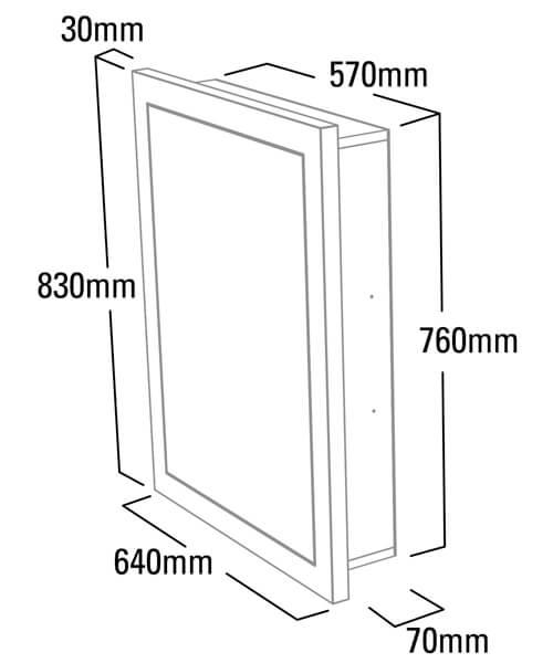 Technical drawing 41123 / SCHCAB6120.GW