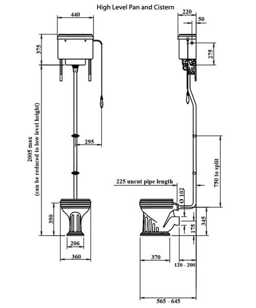 Technical drawing 32929 / BECLOHL6WHI