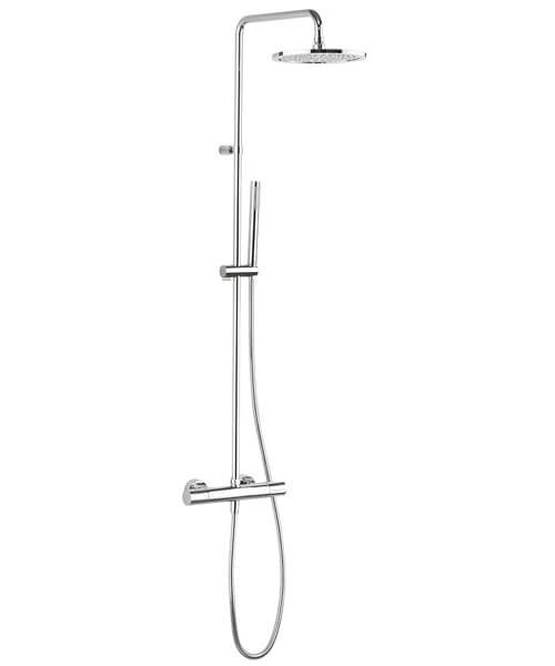 Crosswater Design Thermostatic Shower Valve With Shower Kit