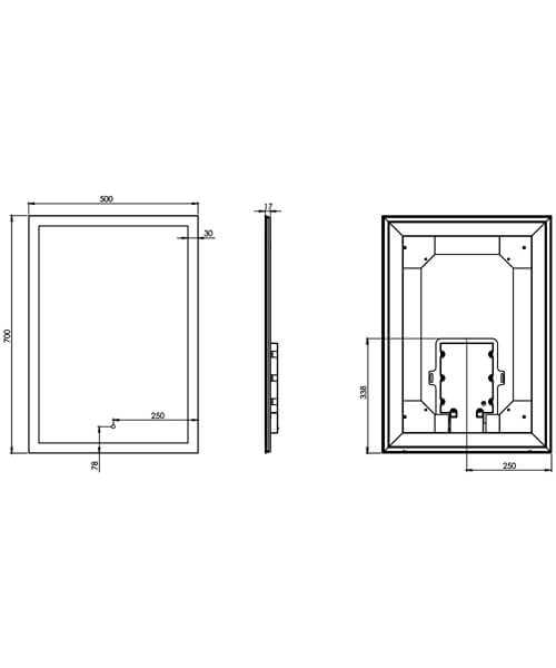 Technical drawing 23977 / US70ALC