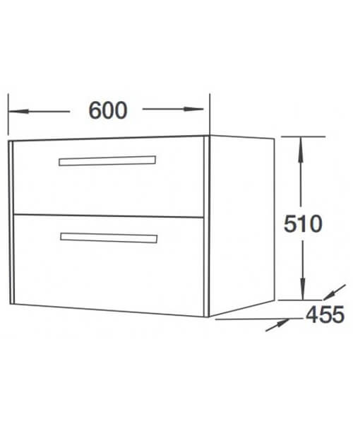 Technical drawing 55144 / FH10122-600WG