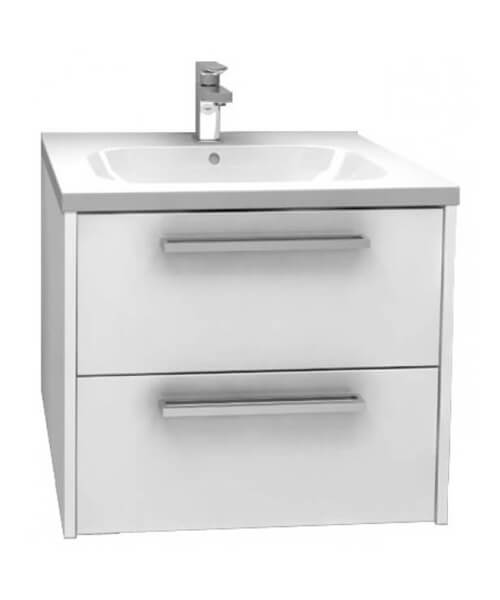 Pura Dura Storage Cabinet Double Drawer Wall Mounted