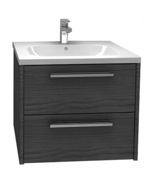 Additional image of Pura Dura Storage Cabinet Double Drawer Wall Mounted