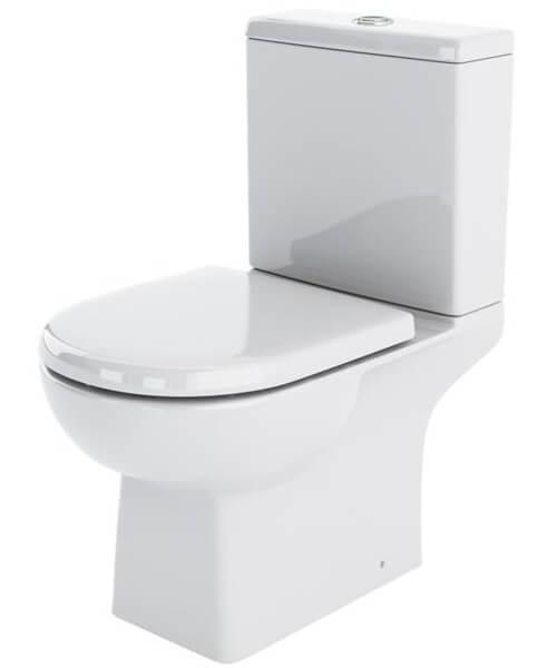 Premier Asselby 670mm Close Coupled WC And Cistern