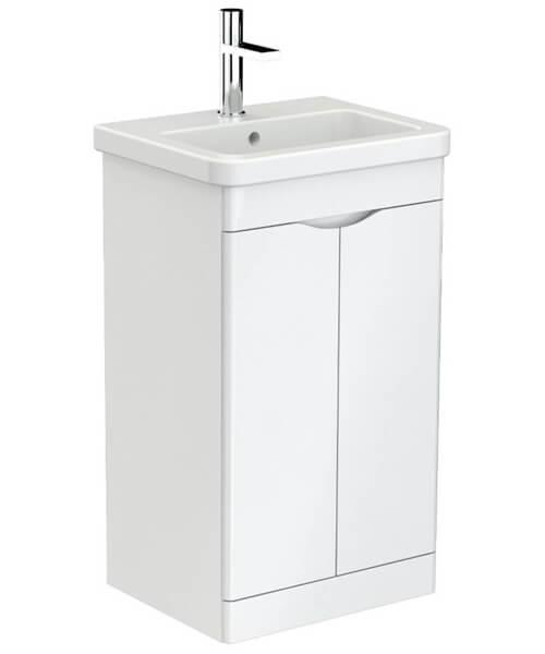 Saneux Indigo Floor Standing 2 Door Bathroom Cabinet