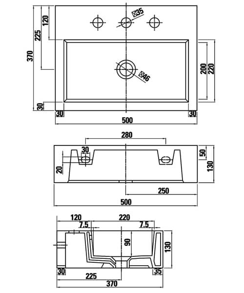 Technical drawing 54888 / 39001