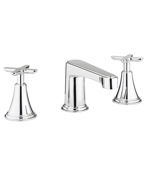 Crosswater Celeste 3 Hole Deck Mounted Basin Mixer Tap