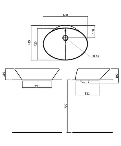 Technical drawing 32816 / SILAS601