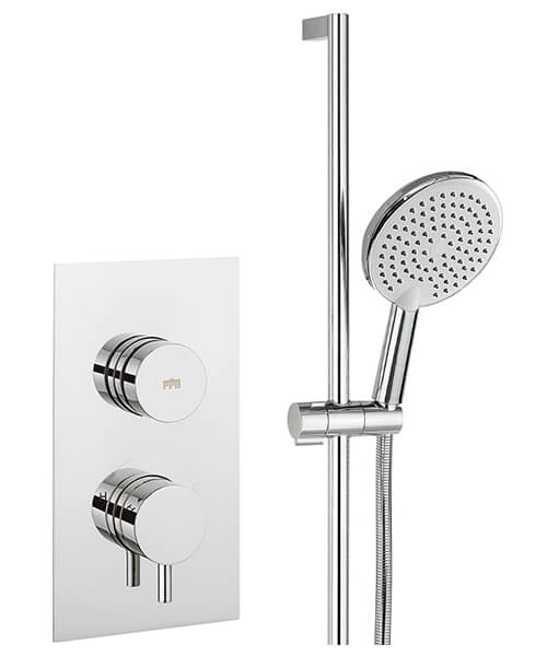 Crosswater Dial Valve 1 Control With Kai Lever Trim Shower Kit