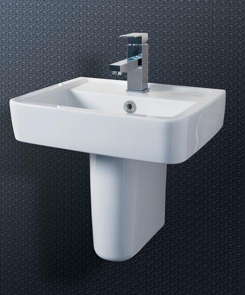 Silverdale Henley 450 x 370mm Cloakroom Basin