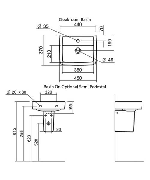 Technical drawing 32836 / SILHE645