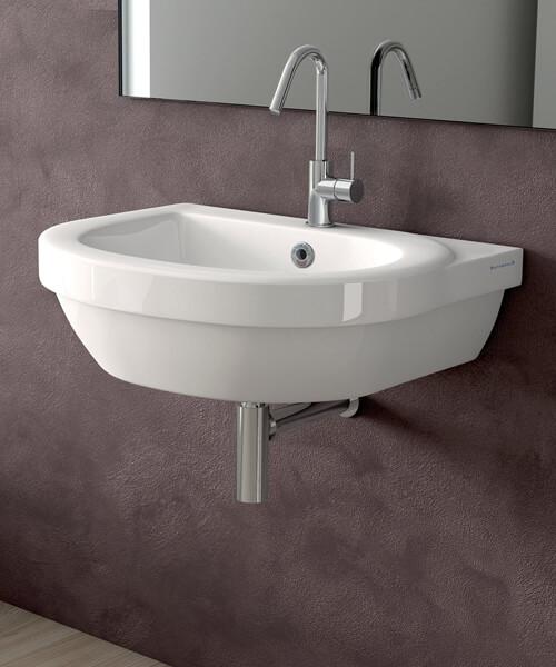 Silverdale Richmond 450 x 385mm Single Tap Hole Cloakroom Basin