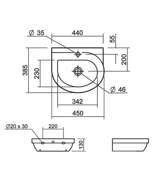 Technical drawing 32849 / SILRI645