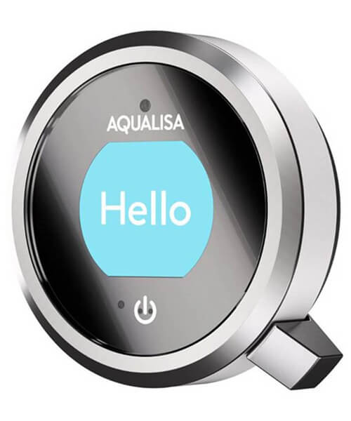 Alternate image of Aqualisa Q Exposed With Adjustable And Fixed Ceiling Heads - Gravity Pumped