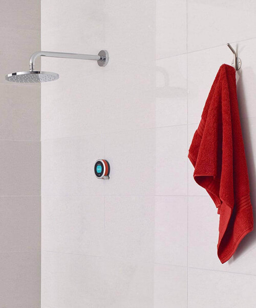 Aqualisa Q Smart Mixer Shower With Fixed Wall Head - HP Or Combi