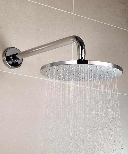 Additional image of Aqualisa Q Smart Mixer Shower With Fixed Wall Head - HP Or Combi
