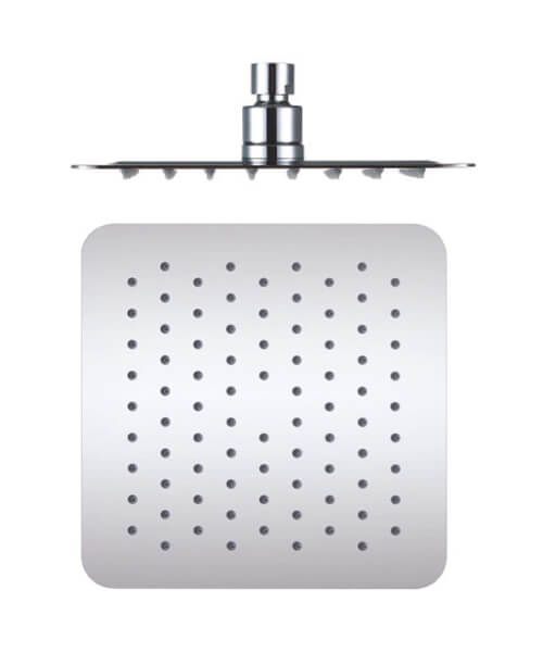 Phoenix Stainless Steel 200mm Square Chrome Shower Head
