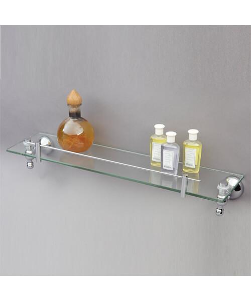 Phoenix Traditional Glass Shelf 500 x 120mm