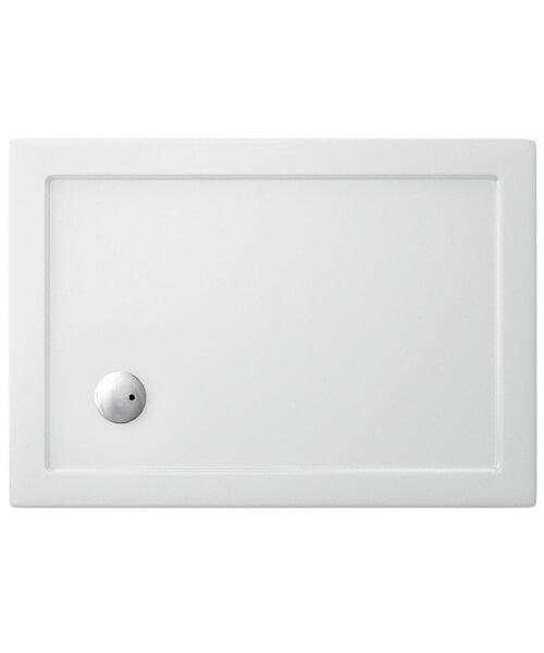 Britton Zamori 1000 x 700mm Rectangle Shower Tray