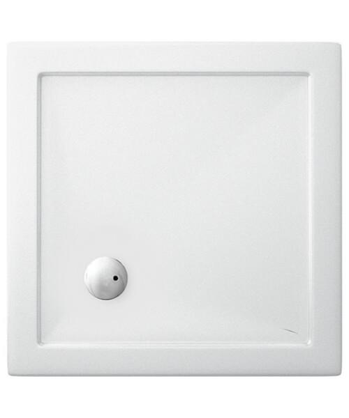 Britton Zamori Acrylic Square Shower Tray 760 x 760 x 35mm