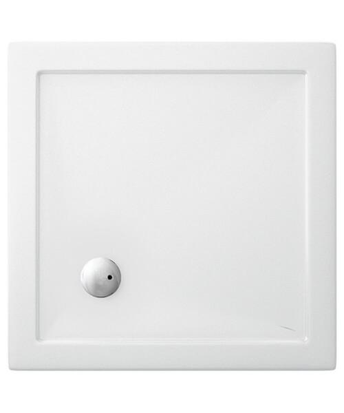 Britton Zamori Acrylic Square Shower Tray 800 x 800 x 35mm