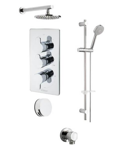 Tre Mercati Vamp Concealed Shower Valve With Shower set