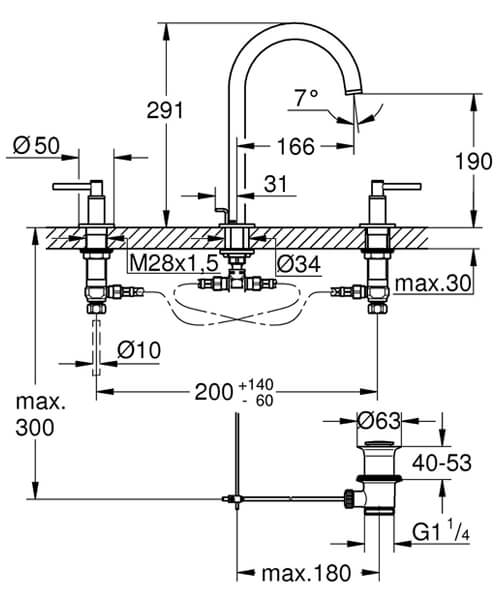 Technical drawing 55195 / 20009003