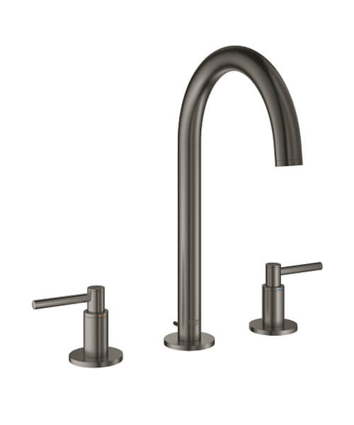 Additional image of Grohe Atrio Deck Mounted Three-Hole Basin Mixer Tap With Pop Up Waste