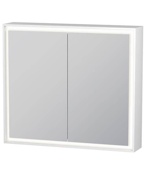 Duravit L-Cube 800mm Double Door Mirror Cabinet