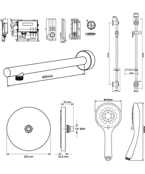 Technical drawing 54959 / HOSDMWRRGRBM